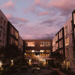 Meetinghouse SE Portland Apartments Courtyard